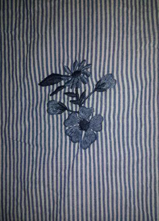 Рубашка с вышивкой primark3 фото