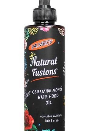 Palmer's укрепляющее и питательное масло для волос с гидрокерамидами монои, 175 мл.