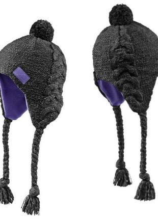 Шапка-ушанка зимняя adidas