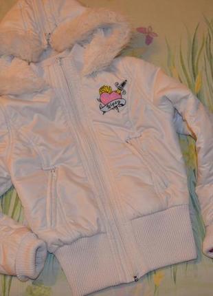 Демисезонная куртка на 10-12 лет