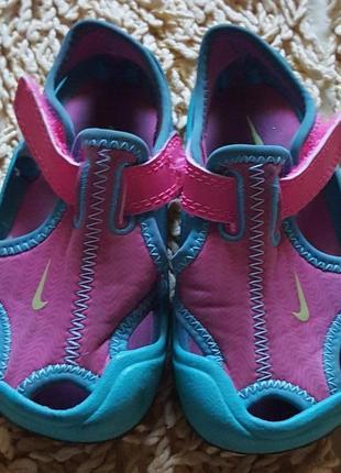 Оригинал.фирменные,качественные сандали-босоножки nike® kids sunray protect