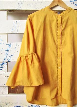 Яркая хлопковая блуза от primark