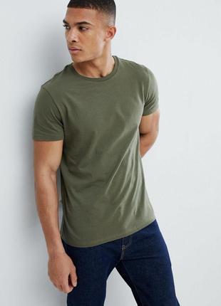 Мужская футболка burton, цвет хаки, размер 50-52