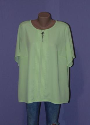 Салатовая блузочка 22 размера