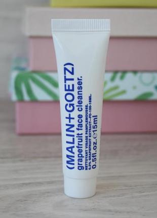 Очищающий гель для лица malin+goetz grapefruit face cleanser