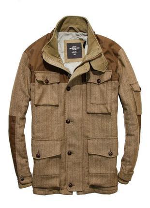 Пальто бушлат куртка, курточка h&m р-р. l-xl