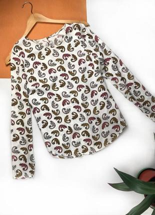 Блуза от h&m блузка с хамелеонами