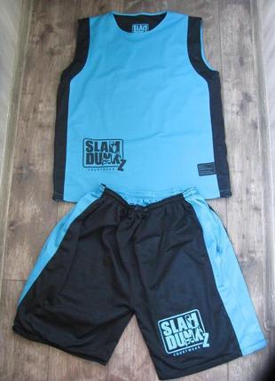 Баскетбольная форма slam dunk xxl большой размер для тренировок и соревнований