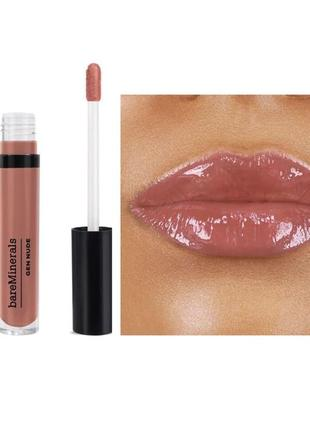 Глянцевый блеск для губ bareminerals gen nude patent liquid lipstick