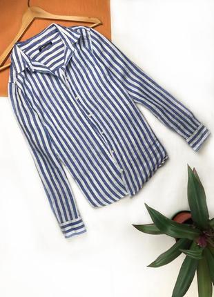 Рубашка полосатая рубашка в полоску