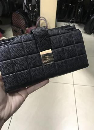 Кожаный кошелёк кожаное портмоне женское