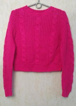 Укороченный свитер бренда new look