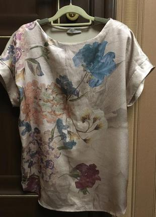 Шикарная блуза от m&s вискоза