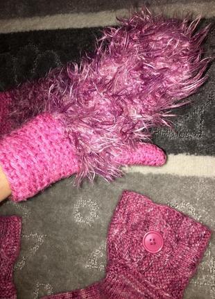 Красивый набор💕 носки+рукавицы