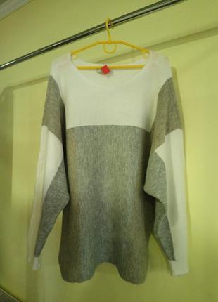 Теплый оверсайз свитер george