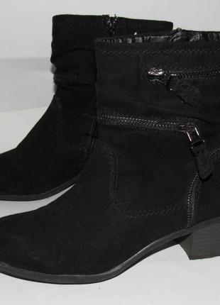 Graceland_нарядные женские ботинки на каблуке 38р ст.24,5см m20