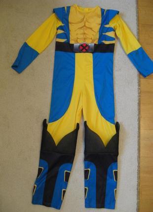 Новогодний карнавальный костюм трансформер бамблби  7-8л до 128см