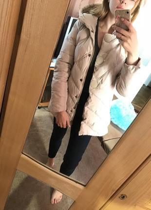 Очень качественный пуховик, зимняя куртка !!!после химчистки!!!