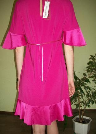 Брендовое розовое платье. италия rinascimento2