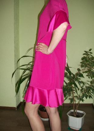Брендовое розовое платье. италия rinascimento4