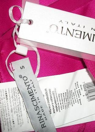Брендовое розовое платье. италия rinascimento5