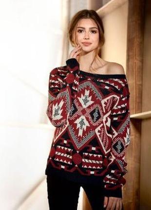 Модный с принтом свитер esmara от lidl р. s