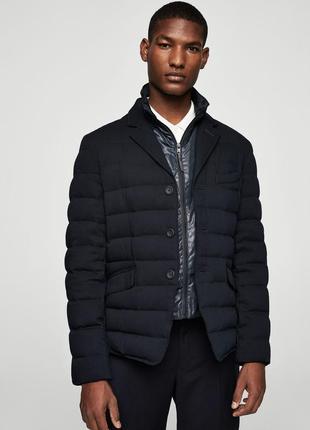 Трендовая куртка/анорак/пуховик от mango испания