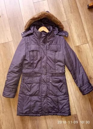 Куртка длинная женская демисезонная