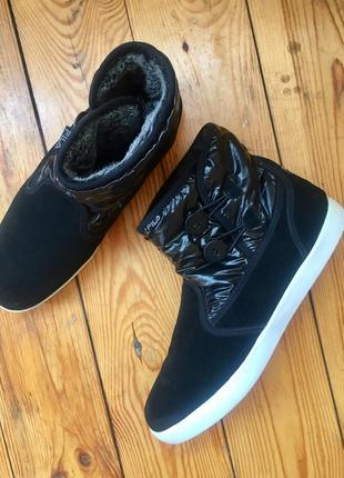 Замшевые ботинки fila/42р(28см)1