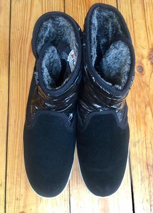 Замшевые ботинки fila/42р(28см)5