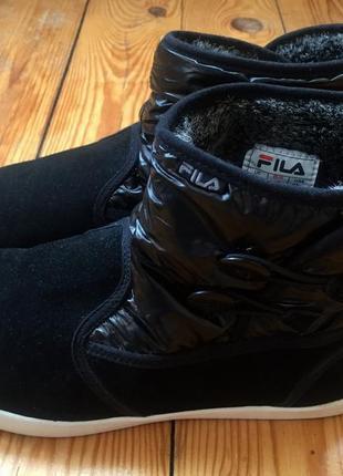 Замшевые ботинки fila/42р(28см)2