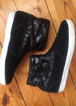 Замшевые ботинки fila/42р(28см)3