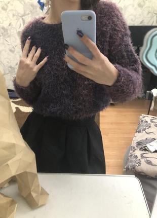 Пушистый свитер свитерок