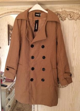 Пальто очень качественное фирменное  с биркой1