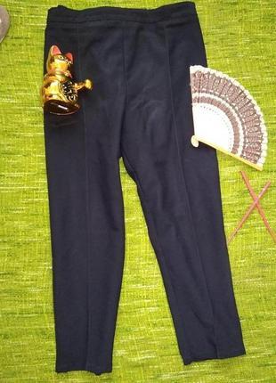 Супер брюки зауженные  с высокой посадкой англия3