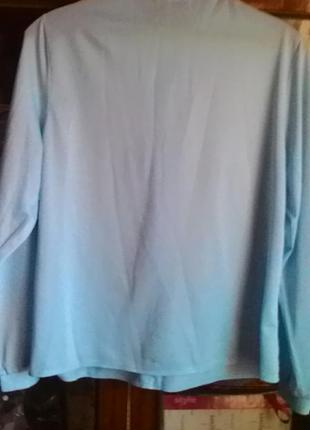 Нарядная блуза с жабо-сирия2