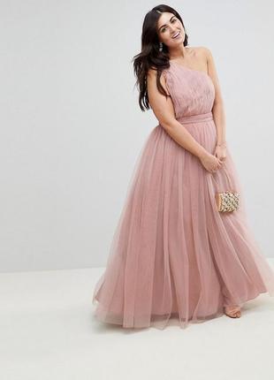Пышное платье с фатином asos,р-р 20