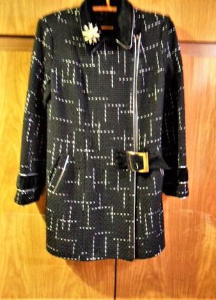 Стильное демисезонное пальто р-р 483