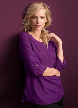 Распродажа блузка оверсайз из струящегося крепа tchibo, германия - р. 48-50 укр.1