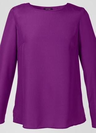 Распродажа блузка оверсайз из струящегося крепа tchibo, германия - р. 48-50 укр.2