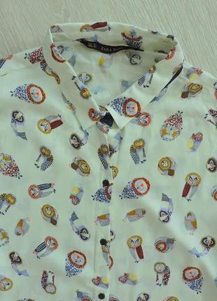 Блуза в совах3