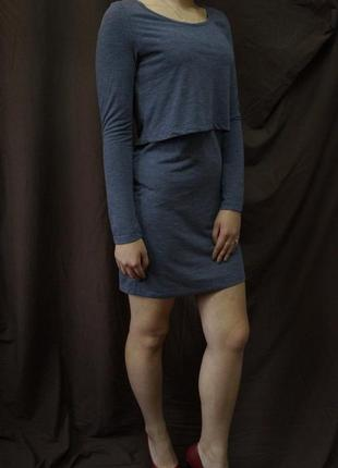 Классическое платье с длинным рукавом2