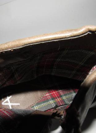 Af_женские нарядные ботинки на каблуке 39р ст.25см m204