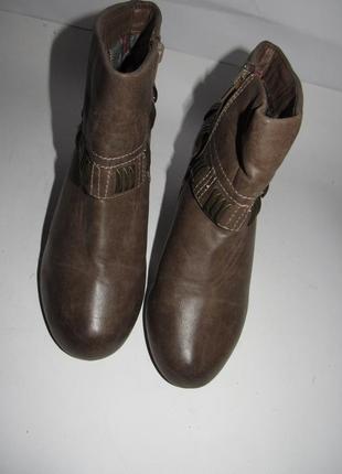 Af_женские нарядные ботинки на каблуке 39р ст.25см m203