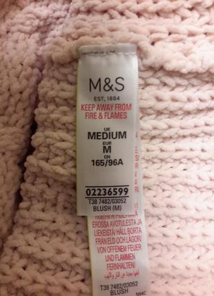 Свитер теплый объемной вязки m&s4