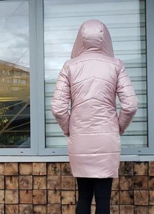 Трендовая зимняя куртка. пуховик-одеяло р. м2