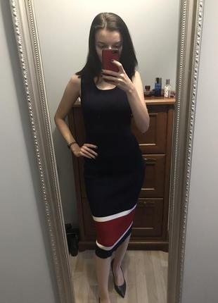 Платье плотное zara2