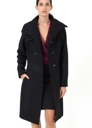 Стильное пальто бойфренд, пальто в стиле оверсайз1