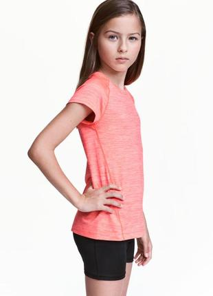 Спортивная футболка h&m 450160 146-152
