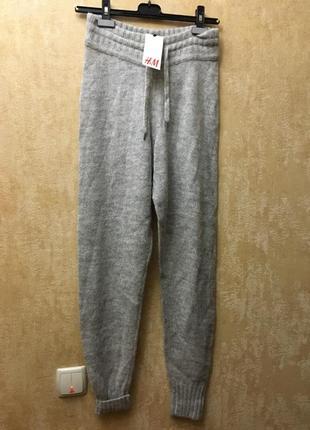 Вязаные штаны h&m2